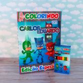 Kit para colorir PJ  Masks