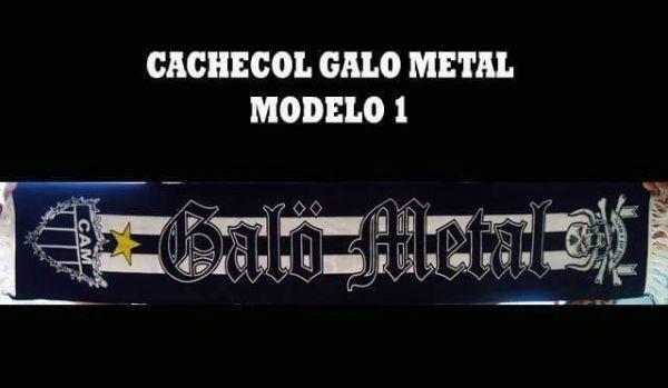 Galo Metal - Cachecol Modelo 01