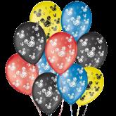 Balão Decorado Orelha de Rato Colorido Nº9 25un