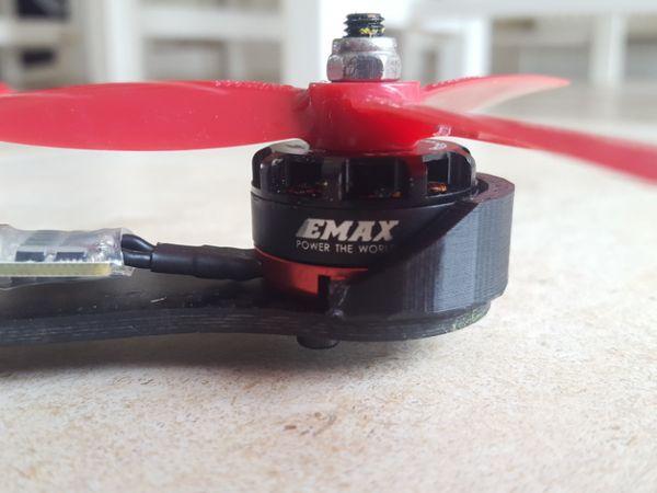 Protetor de Motor em ABS para Emax 2205 (04 Peças)