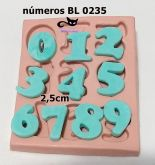 Números 2,5cm - BL 0235