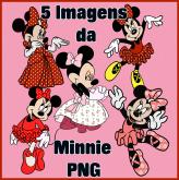 5 Imagens da Minnie 1 - PNG