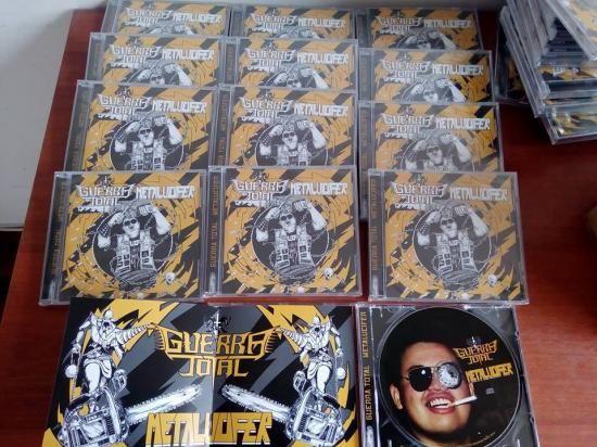 Guerra Total & Metalucifer - Split CD