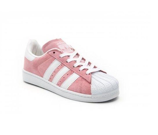 8510d12c4b3 ... adidas superstar rosa e branco