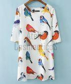 Vestido Cute Birds