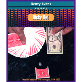 Risky Bet (Blue) (US Currency,Gimmick and VCD) Henry Evans #1231