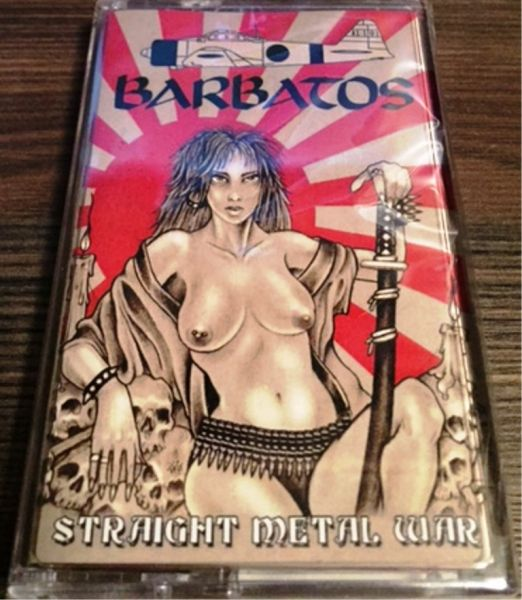 BARBATOS - Straight Metal War - CASSETE