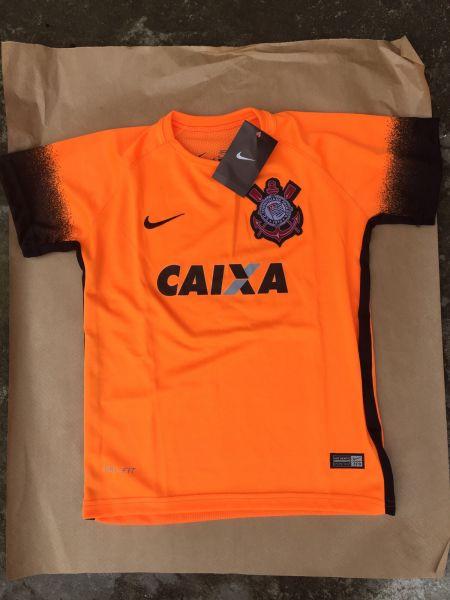 94bcd4616 Camisa Nike Corinthians Feminina laranja 2015 Suppoter 100%Original ...