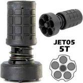 Jet Loader 5  e 6Tiros Shotgun 38/357 Rápido P/ Revólver