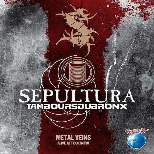 CD Sepultura – Metal Veins (Alive At Rock In Rock)
