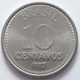 10 Centavos 1987 SOB/FC