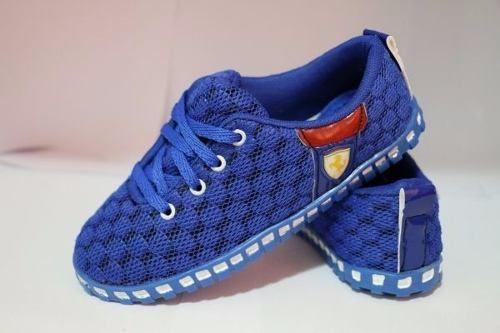 5ae71efa5b4 Tênis Ferrari Azul - Outlet Ser Chic