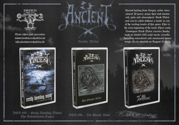 Ancient - det Glemte Riket (Cassete)