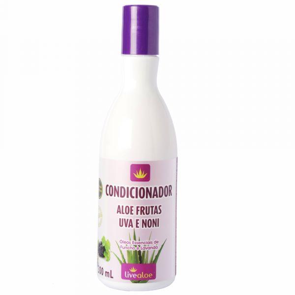 Condicionador Aloe Frutas Uva e Noni