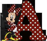 Alfabeto - Minnie 28 - PNG