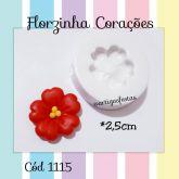 Florzinha Corações  Cód 1115