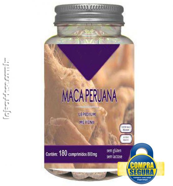 MACA PERUANA 800MG - 180 COMPRIMIDOS