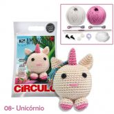 Kit Amigurumi - 08 - Unicórnio