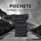 Pochete De Perna Resgate RG1406 Preto