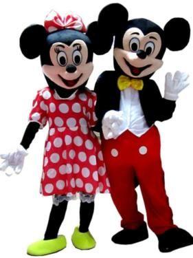 Casal Mickey e Minnie