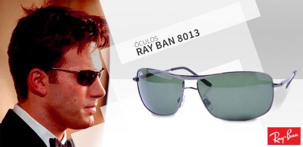 ec661c2c34 Ray Ban Demolidor RB 8013 Preto com lente esverdeada - Para Usa
