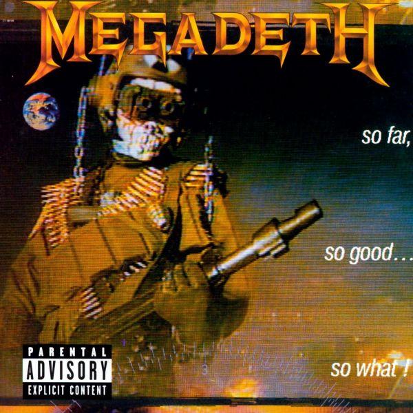 CD Megadeth – So Far, So Good… So What!