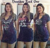 Vestido Feminino Rock One - 5 Peças Sortidas