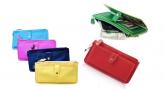 Bolsa carteira feminina com alça para ombro - carteira de mao
