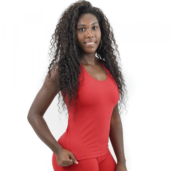 Regata Nadador Sprint Térmica Lisa Vermelho - Emana