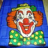 Lenço Clown (Palhaço) de 1metrox1metro cores vivas #807
