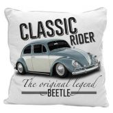 Capa Almofada Beetle Vintage - 45x45cm - Volkswagen Coleção Oficial
