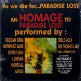 As We Die For...Paradise Lost - Tribute (Digipak CD)