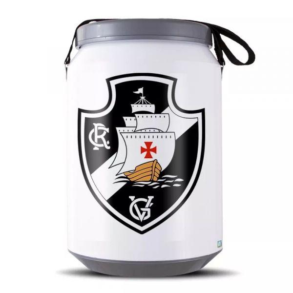 Cooler Térmico Cerveja Pro Tork Vasco Da Gama 24 Latas