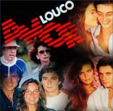DVD Novela Louco Amor. Compacto começo meio e fim . Em 1 DVD