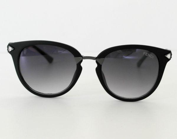 6486e06831cb8 Óculos de sol feminino Fendi Preto Inspired - Daf Store