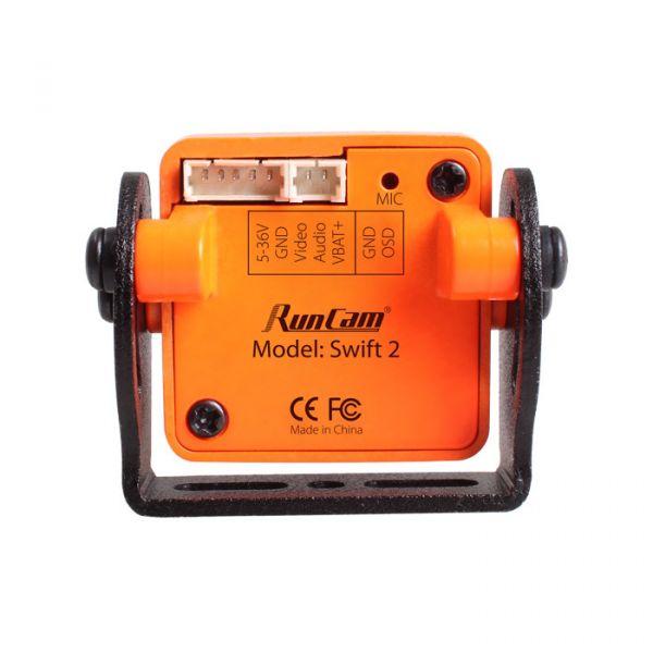 Câmera FPV RunCam Swift 2 600TVL Lente 2.1mm (com OSD / Microfone)
