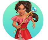 Papel Arroz Princesa Elena Redondo 008 1un