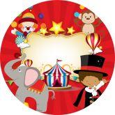 Papel Arroz Circo Redondo 006 1un