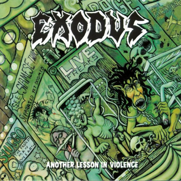 CD Exodus – Another Lesson In Violence