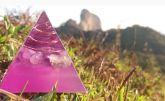 81100 - Pirâmide Transmutação Ametista