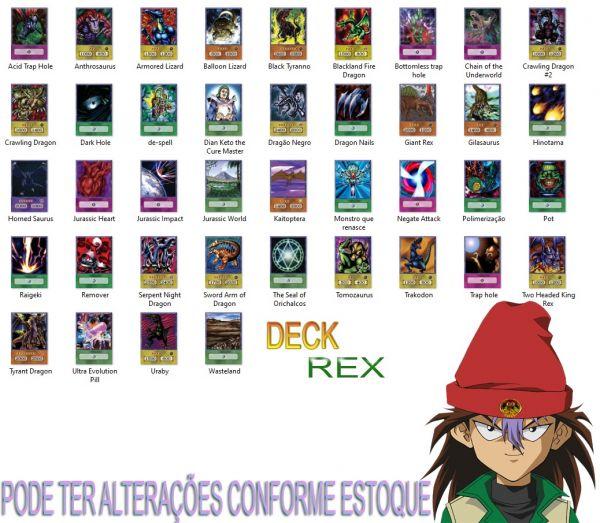 Deck Rex Raptor