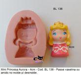 Princesa Aurora com 4cm