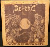 BEHERIT - The Oath of Black Blood - Boxet 1 (t-shirt size: L)