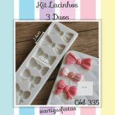 Kit Lacinhos (3 Duos)