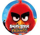 Papel Arroz Angry Birds Redondo 008 1un