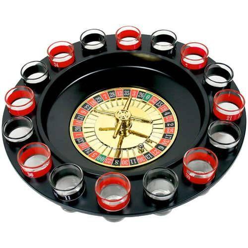 Jogo de Roleta com 16 copos