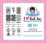 Placa Sugar Bubbles - SB011