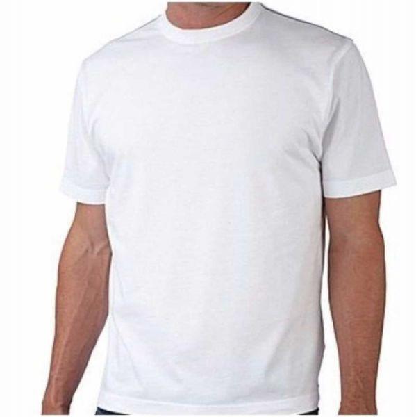 Camisa de malha branca Algodão