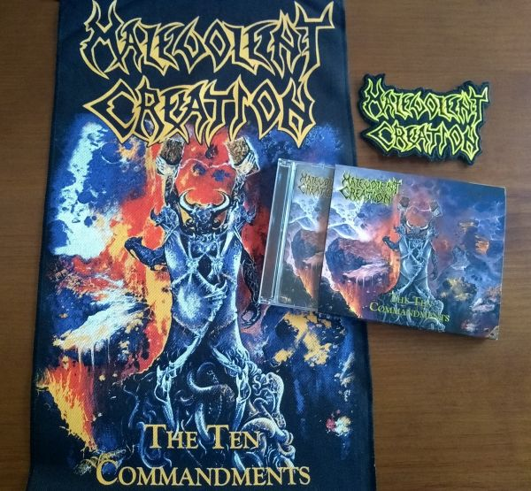 Combo Malevolent Creation CD-duplo + BackPatch + Patch bordado