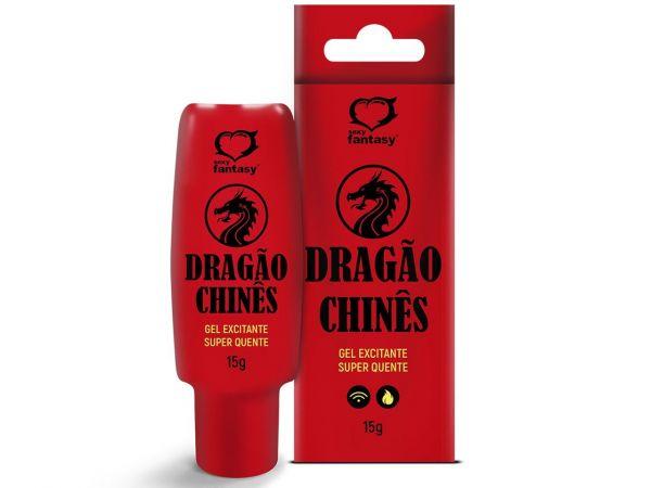 DRAGAO CHINES GEL EXCITANTE HOT 15G SEXY FANTASY